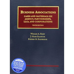 Business Associations, Cases and Materials on Agency, Partnerships, LLCs, and Corporations - (University Casebook Series)【並行輸入品 lakibox28