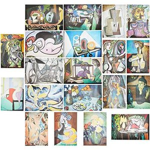 Pablo Picasso Posters for Decorations (13 x 19 in, 20 Pack)【並行輸入品】 lakibox28