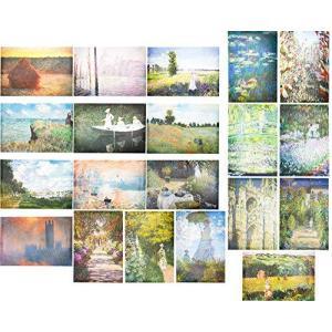 Claude Monet Posters (13 x 19 in, 20 Pack)【並行輸入品】 lakibox28