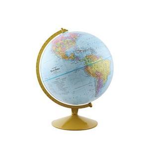 "Replogle Explorer World Blue Ocean Globe, Desktop, 12"" diameter, Up-to-Date Cartography, Raised Relief, Educational, perfect for Students of lakibox28"