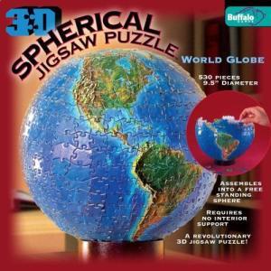 3D Spherical Puzzle - World Globe【並行輸入品】 lakibox28