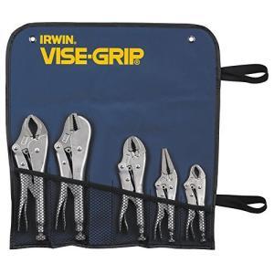 IRWIN VISE-GRIP Original Locking Pliers Set, 5-Piece (68)【並行輸入品】|lakibox28