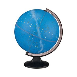 Replogle Constellation Illuminated Globe, Dual map, Detailed Sky map, Turn The Light ON to See All of The Constellations That Represent 12 D lakibox28