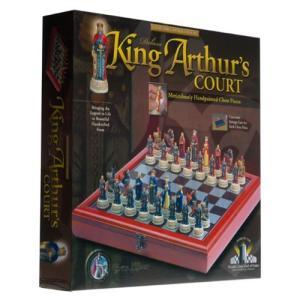 King Arthur's Court Deluxe Chess Set【並行輸入品】|lakibox28