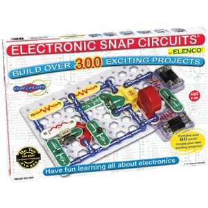 Snap Circuits Classic SC-300 Electronics Exploration Kit   Over 300 Projects   Full Color Project Manual   60+ Snap Circuits Parts   STEM Ed lakibox28