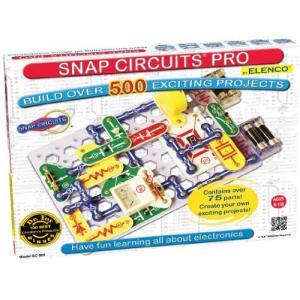Snap Circuits Pro SC-500 Electronics Exploration Kit   Over 500 Projects   Full Color Project Manual   75 + Snap Circuits Parts   STEM Educa lakibox28