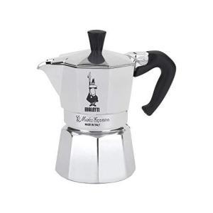 Bialetti Moka Express StoveTop Coffee maker, 3-Cup, Aluminum Silver【並行輸入品】 lakibox28