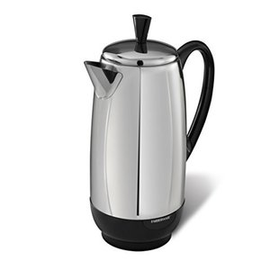 Farberware 12-Cup Percolator, Stainless Steel, FCP412【並行輸入品】 lakibox28