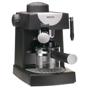 KRUPS FND111 Allegro Espresso Maker, black【並行輸入品】 lakibox28