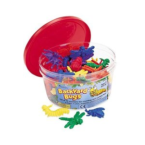 Learning Resources Backyard Bugs Counters, Educational Counting and Sorting Toy, Set of 72【並行輸入品】|lakibox28