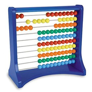 Learning Resources Ten-Row Abacus, Early Math Skills, Addition/Subtraction, Abacus, Abacus for Kids, Math Toys, Ages 5+【並行輸入品】|lakibox28