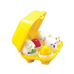 TOMY Toomies Hide & Squeak Eggs | Easter Egg Toddler Toys | Matching & Sort好評販売中|lakibox28