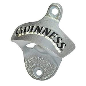 Guinness Wall Mounted Bottle Opener - Metal Bottle Cap Remover for Bar or K好評販売中|lakibox28