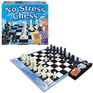 Winning Moves Games Winning Moves No Stress Chess, Natural (1091)【並行輸入品】|lakibox28