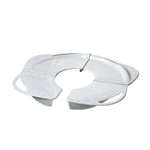 PRIMO Folding Potty with Handles, White Granite好評販売中|lakibox28