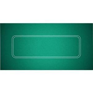 Trademark Poker Texas Hold'em Layout 36-Inch x 72-Inch好評販売中|lakibox28
