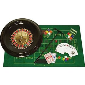 Trademark Poker 16-Inch Deluxe Roulette Set with Accessories好評販売中|lakibox28