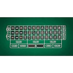 Trademark Poker Roulette Layout 36-Inch x 72-Inch好評販売中|lakibox28