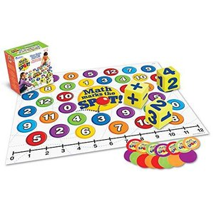 Learning Resources Math Marks The Spot Floor Game, Homeschool, Number Recognition, Addition & Subtraction, Ages 5+【並行輸入品】|lakibox28