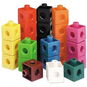 Learning Resources Snap Cubes, Educational Counting Toy, Set of 500 Cubes, Ages 5+【並行輸入品】|lakibox28