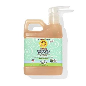 California Baby Calm Shampoo and Body Wash - Hair, Face, and Body | Gentle,好評販売中|lakibox28