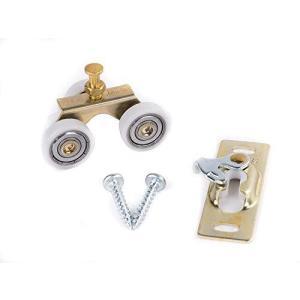 Johnson Hardware Sliding Door/Pocket Door Hanger Ball Bearing 1125-1 Inch Wheel, 200 lb Capacity【並行輸入品】|lakibox28