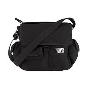 Rothco Canvas Urban Explorer Bag, Black好評販売中 lakibox28