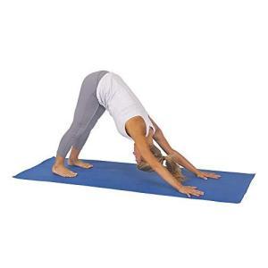 Sunny Health & Fitness Non-Slip Yoga Mat - Size 68 in x 24 in (Blue)【並行輸入品】|lakibox28
