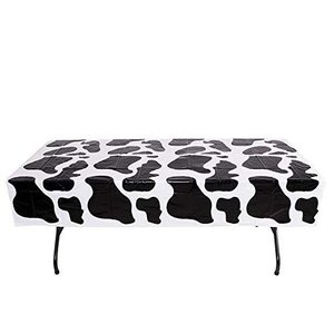 Rhode Island Novelty 54 Inch x 72 Inch Cow PNT Plastic Tablecloth One Per Order【並行輸入品】|lakibox28