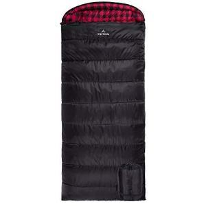 TETON Sports 101R Celsius XXL -18C/0F Sleeping Bag; 0 Degree Sleeping Bag Great for Cold Weather Camping; Black, Right Zip【並行輸入品|lakibox28