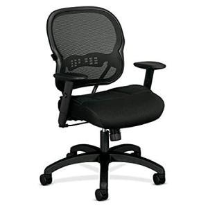 HON BSXVL712MM10 Wave Mid-Back Mesh Office or Computer Chair with Adjustabl好評販売中|lakibox28