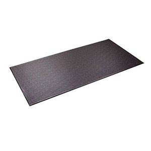 Supermats Heavy Duty Equipment Mat 13GS Made in U.S.A. for Indoor Cycles Recumbent Bikes Upright Exercise Bikes and Steppers (2.5 Feet x 5 F|lakibox28