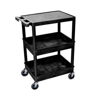 LUXOR (STC211-B) Tub Cart, Black【並行輸入品】|lakibox28