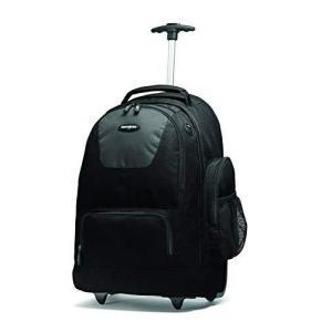 Samsonite Wheeled Backpack with Organizational Pockets, Black/Charcoal, One Size【並行輸入品】|lakibox28