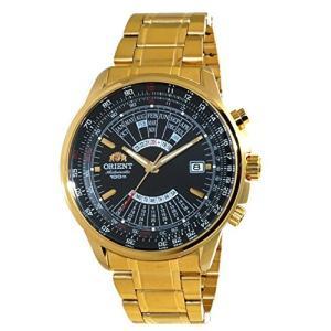 Orient Sports Automatic Multi-Year Calendar Gold Watch EU07001B【並行輸入品】 lakibox28