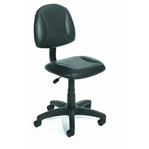 Boss Office Products Posture Task Chair without Arms in Black好評販売中|lakibox28