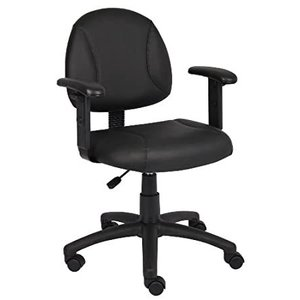 Boss Office Products Posture Task Chair with Adjustable Arms in Black好評販売中|lakibox28