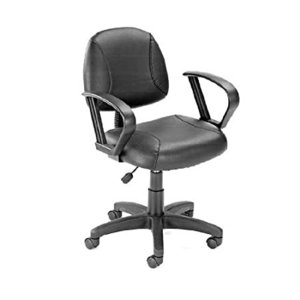 Boss Office Products Posture Task Chair with Loop Arms in Black好評販売中|lakibox28