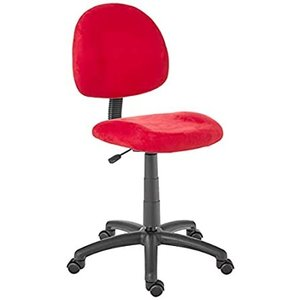Boss Office Products Perfect Posture Delux Microfiber Task Chair without Ar好評販売中|lakibox28