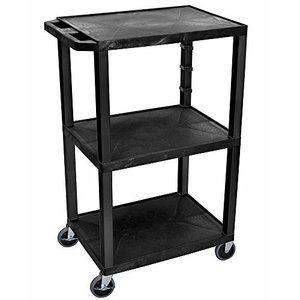H WILSON WT42E Presentation Cart, Black【並行輸入品】|lakibox28