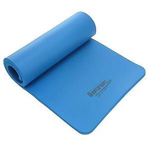 Aeromat Elite Dual Surface Exercise Mat, 3/4x23x56-Inch, Blue【並行輸入品】|lakibox28