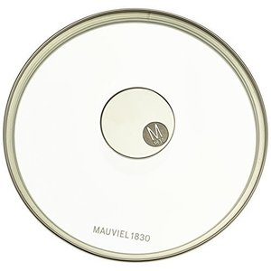 Mauviel Made In France M'360 7.8-Inch Glass Lid with Cast Stainless Steel【並行輸入品】|lakibox28