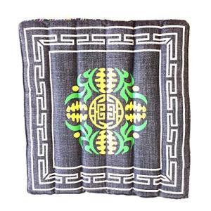 OMA Tibetan Yoga Meditation Accessory Cotton Mat Cushion Block with Carrying Bag - Premium Quality【並行輸入品】 lakibox28