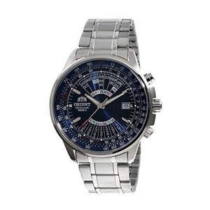 Orient FEU07008D Men's Stainless Steel Multi Year Calendar Blue Dial Automatic Watch【並行輸入品】 lakibox28