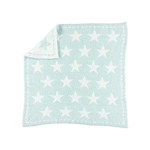 Barefoot Dreams CozyChic Dream Receiving Blanket - Aqua好評販売中|lakibox28