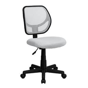 Flash Furniture Low Back White Mesh Swivel Task Office Chair好評販売中|lakibox28