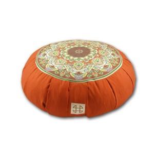 Relaxso Zafu Statics Meditation Cushion, Toile Mocha【並行輸入品】 lakibox28