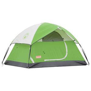 Coleman Camping Tent | 4 Person Sundome Dome Tent, Green【並行輸入品】|lakibox28
