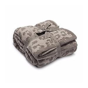 Barefoot Dreams CozyChic Barefoot in The Wild Throw Linen/Warm Gray One Siz好評販売中|lakibox28