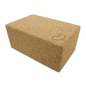Bean Products Yoga Blocks - Single, Cork, Large【並行輸入品】 lakibox28